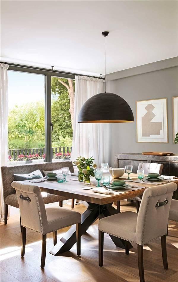 mesa comedor estilo clásico