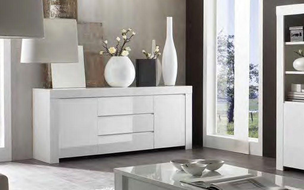 Aparador blanco minimalista