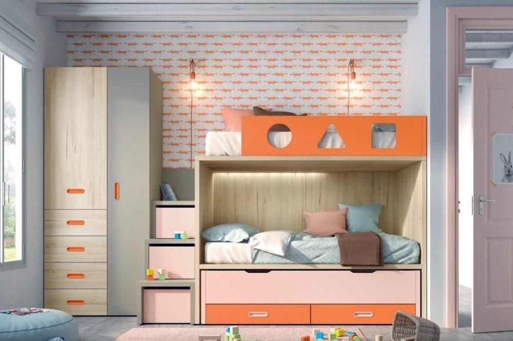 Litera infantil naranja