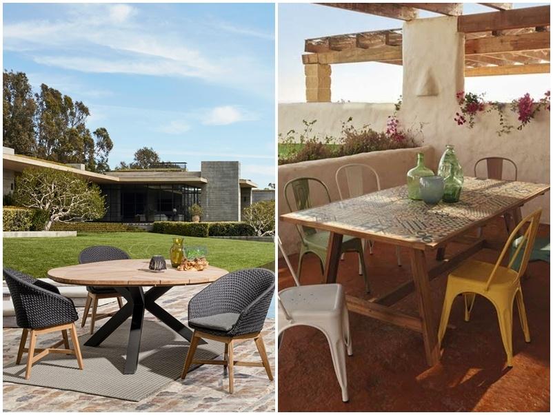 Ideas para muebles de jardín