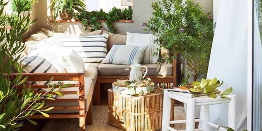 muebles para terrazas pequeñas