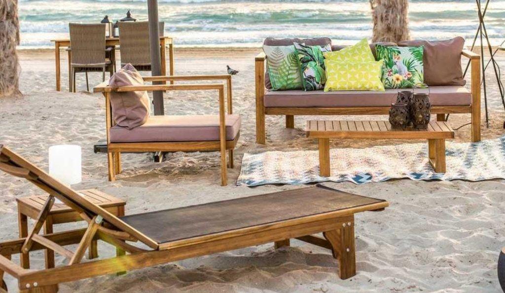 muebles de jardin bubinga