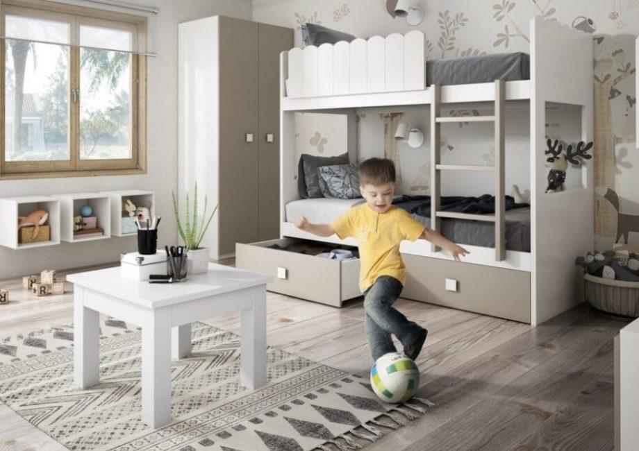 habitaciones para niños juveniles personalizadas